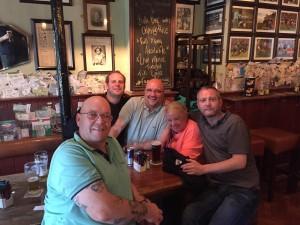 Andy, Paul, Och and Kev