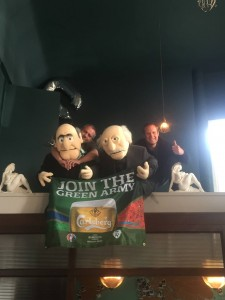 Two Muppets and those blokes from the balcony