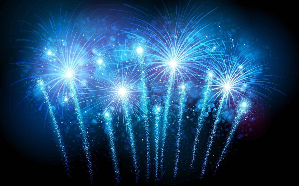 blue-fireworks