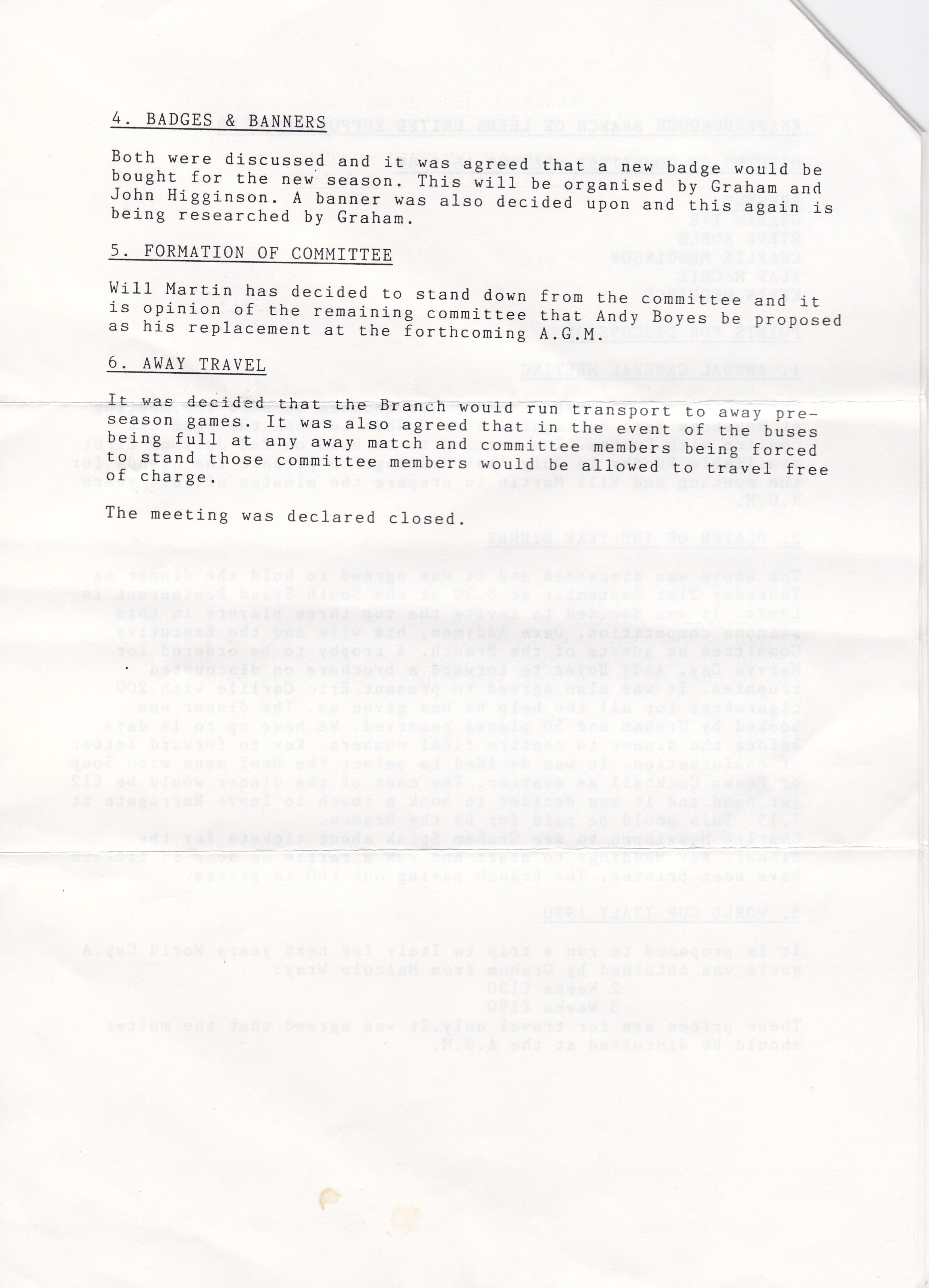 Knaresboro May 89 2