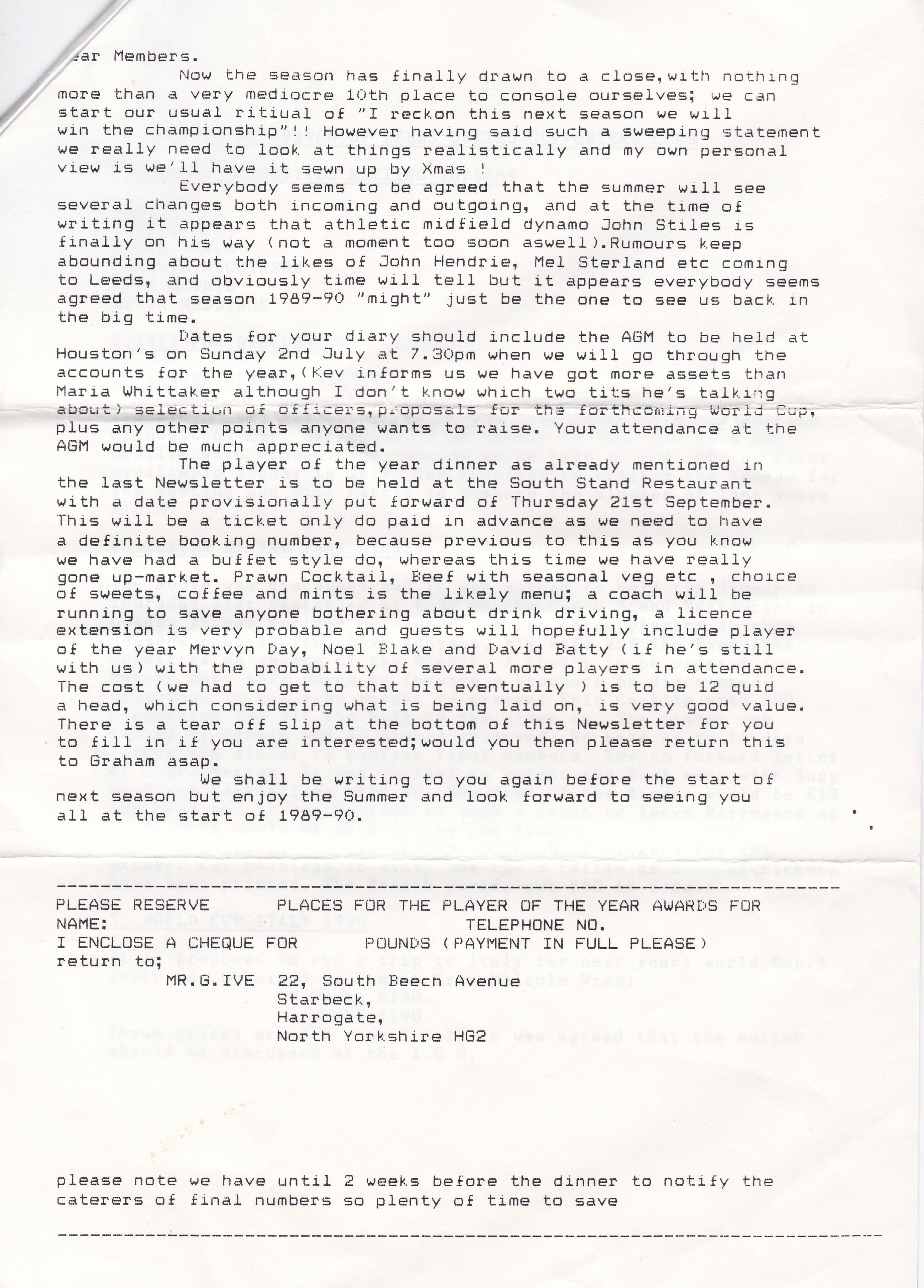 Knaresboro May 89 3